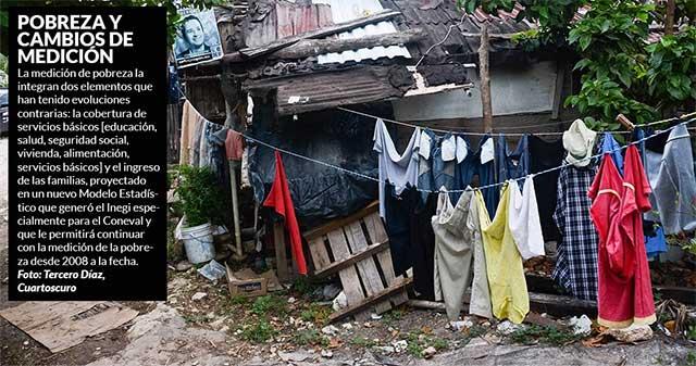 La pobreza en México se redujo, según el Coneval