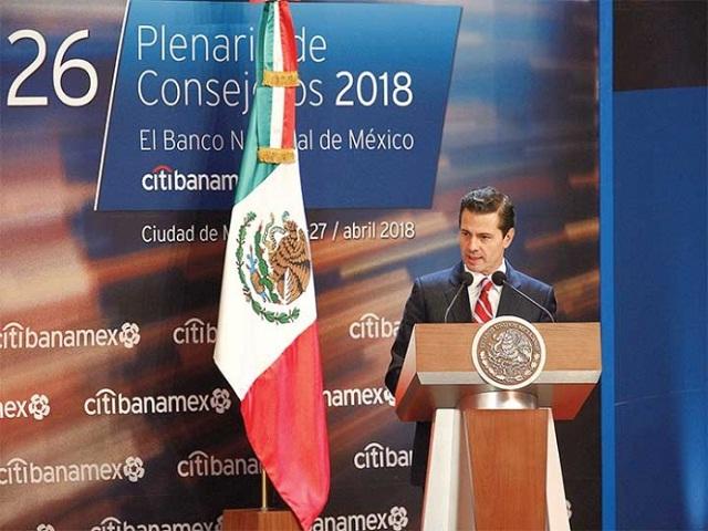 No voten con el estómago, pide Peña Nieto