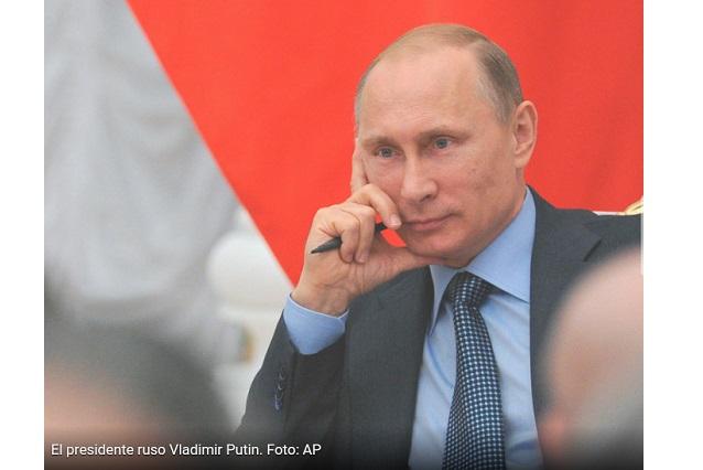 ... , el líder ruso, primer lugar en la lista de poderosos del mundo