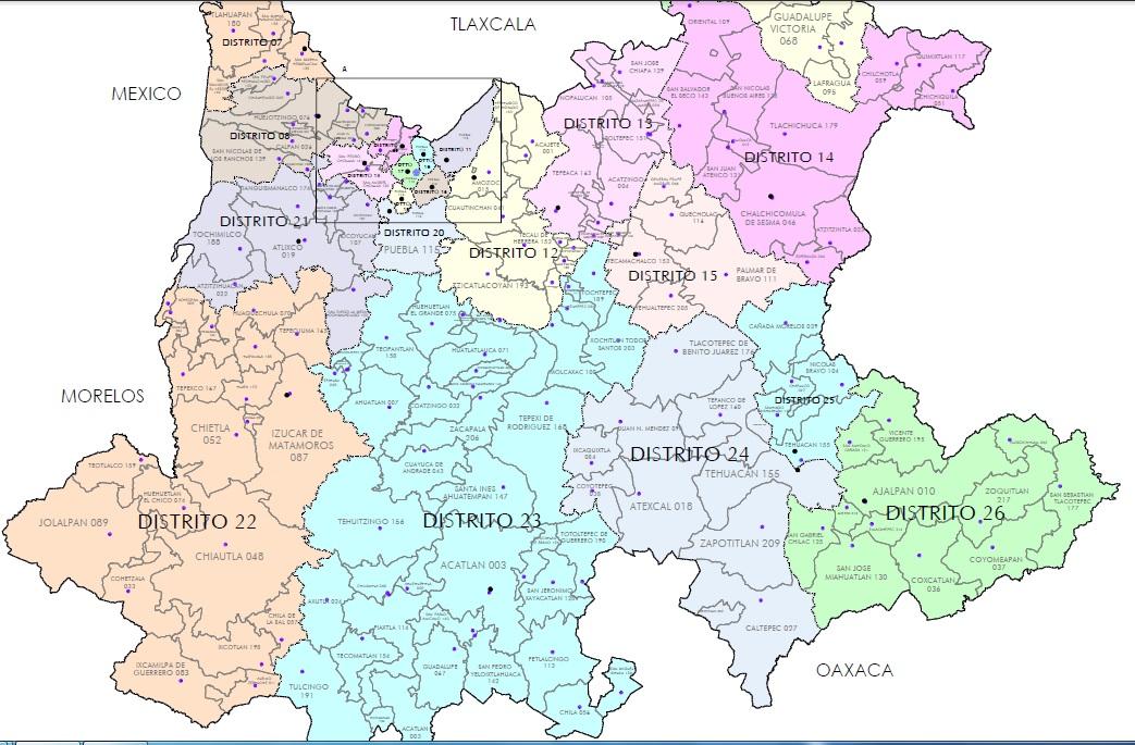 Favorece Al Pri La Nueva Geograf 237 A Electoral En Puebla E