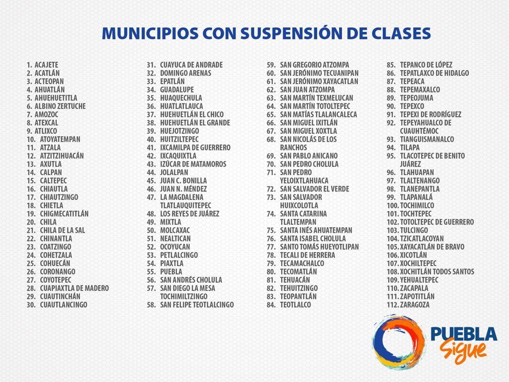 m.e-consulta.com | Continuarán sin clases escuelas en 112 municipios ...