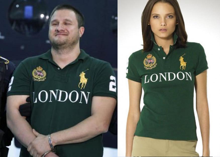 """La famosa playera Polo verde London de la marca Ralph Lauren que portaba  Edgar Valdez Villareal """"La Barbie"""" llegó a cotizarse en más de 150 dls (   2 d450cbc1017"""