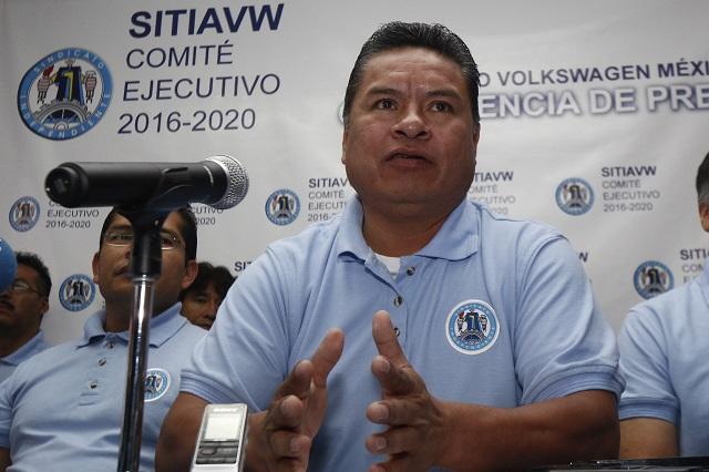 Líder del Sitiavw ya es coordinador de la federación de sindicatos