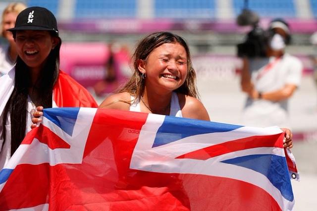 Skaters componen el podio olímpico más joven de la historia