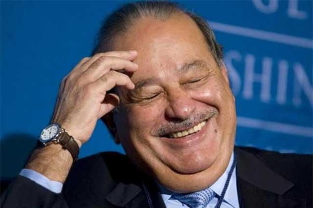 Forbes da el cuarto lugar a Carlos Slim en su lista de los más ricos