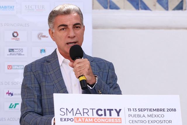 Destaca Gali Ruta 3 y Parque de Amalucan como proyectos Smart