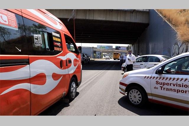 Infracciona SMT a 70 unidades del transporte público por sobrecupo