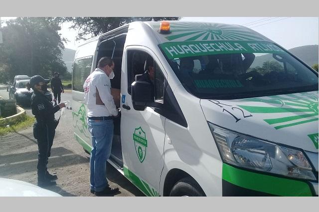 Detienen 35 unidades pirata o fuera de ruta en Puebla