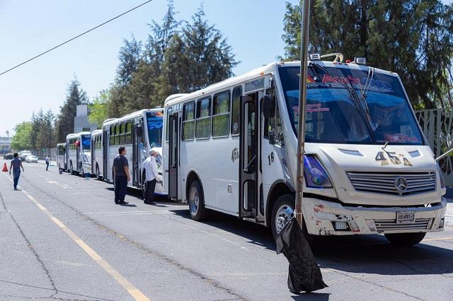 Ojo: cancelan descuento en pasaje a estudiantes de Puebla