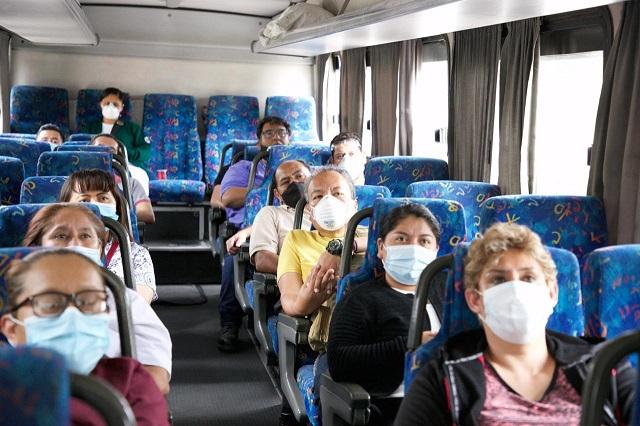 Hay transporte gratuito para 200 mil trabajadores de Salud