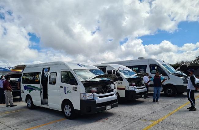 Revisan transporte público en Zacatlán, Tehuacán y Teziutlán