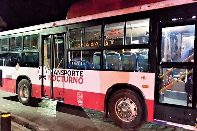 Reabren 6 rutas de transporte nocturno por El Buen Fin en Puebla
