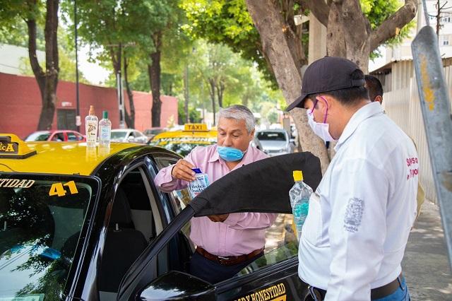Sólo emergencias pueden atender taxis por las noches en Puebla