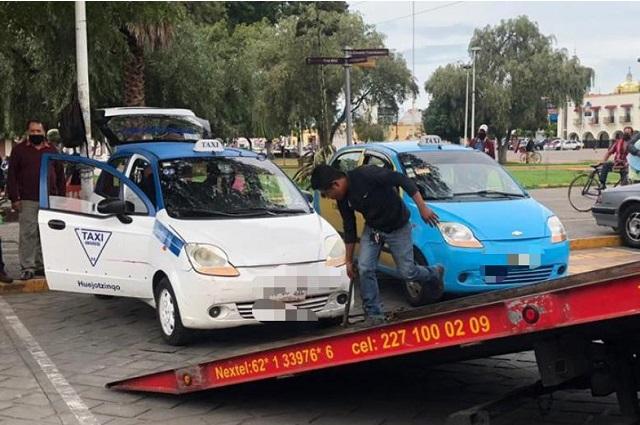 Mantiene SMT operativos contra unidades de transporte irregulares