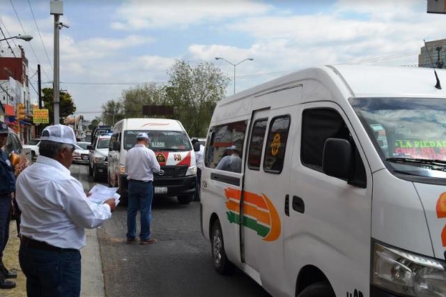 Revocará SMT concesiones del transporte público, anuncia