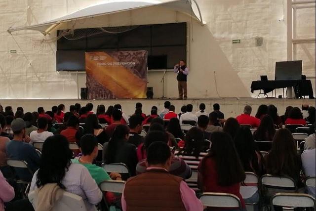 Foro sobre prevención del delito realiza en Tehuacán el SNSP