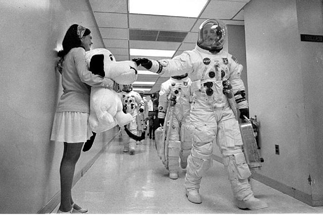 ¿Snoopy viajó a la luna con la NASA?