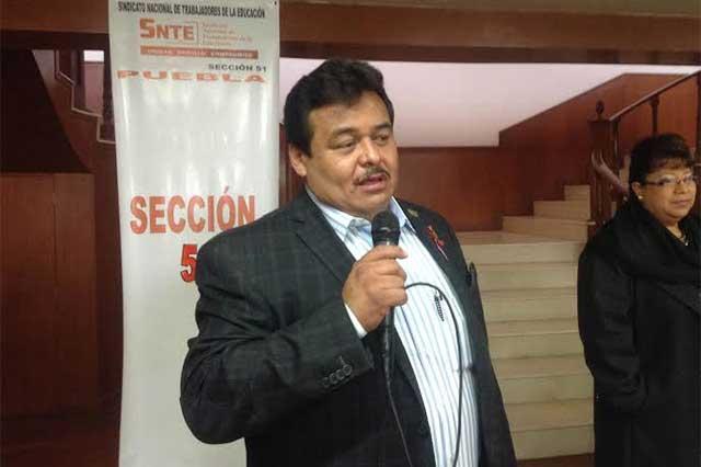 Ampliará líder de la Sección 51 del SNTE su gestión hasta diciembre