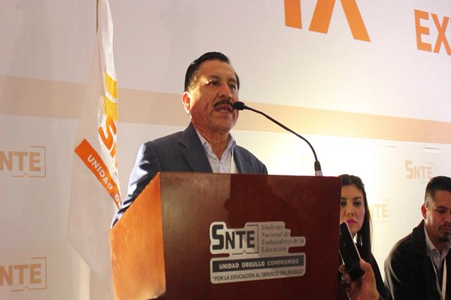 Secciones del SNTE eligen a delegados al Congreso Nacional Extraordinario