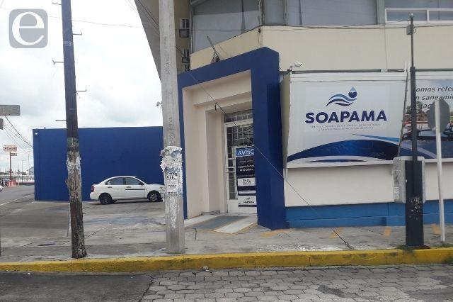 Roban documentación del SOAPAMA en Atlixco