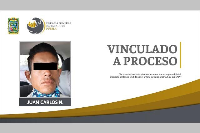 Lo vinculan a proceso por asesinar a pariente en Puebla