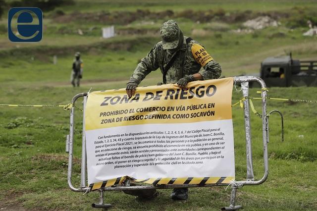 Juan C Bonilla tiene socavón pero no un Atlas de riesgos