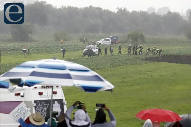 Le preocupa al PRI la seguridad en el socavón de Juan C. Bonilla