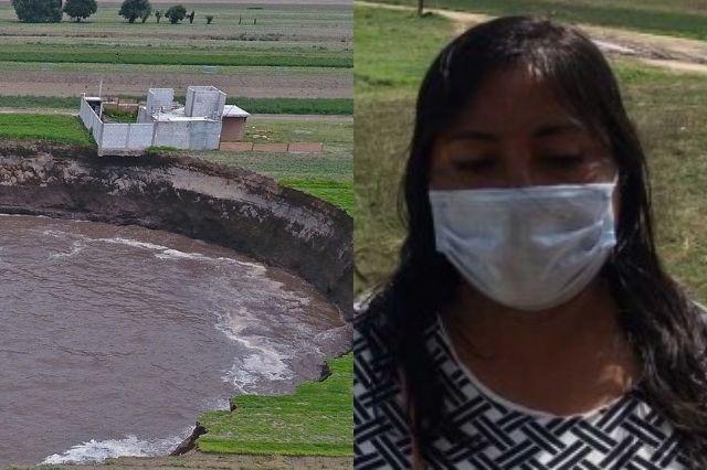 Ahora estafan a familias afectadas por el socavón de Juan C. Bonilla