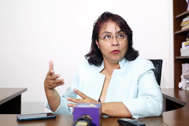 Maldonado opera mi destitución en el PRD, acusa Socorro Quezada