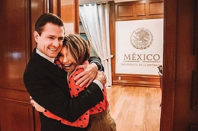 ¿Sofía Castro no quiere saber nada de Peña Nieto?