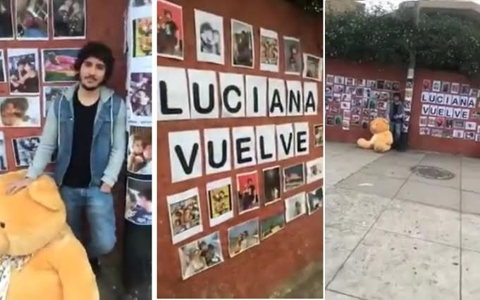 Vuelve Luciana: Joven busca el perdón de su novia y lo llaman soldado caído