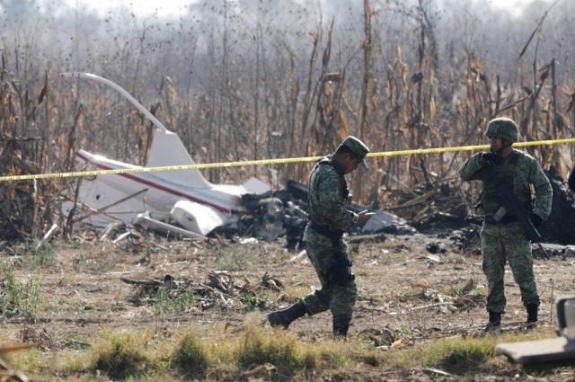 FGE Puebla usó dictamen federal para pesquisa por helicopterazo
