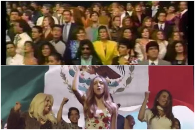 Meade lanza un video musical igualito al de Solidaridad de 1991