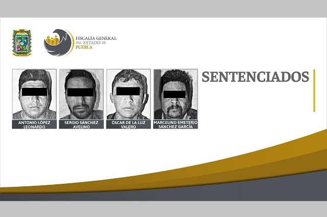 Van 4 a la cárcel por saquear trenes en Soltepec en 2018