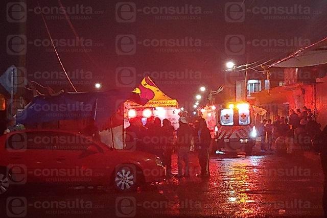Dos de los ocho heridos en baile sonidero, hospitalizados