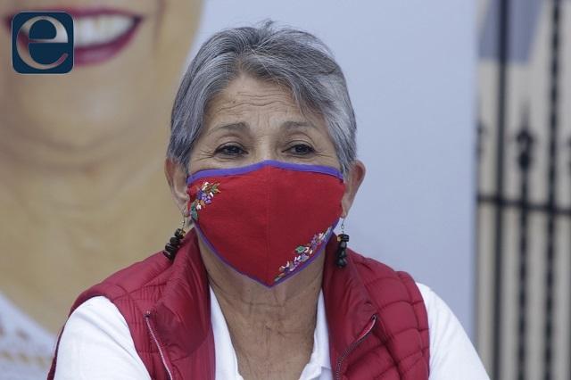 Soraya Córdova pide al gobernador seguridad en el proceso electoral