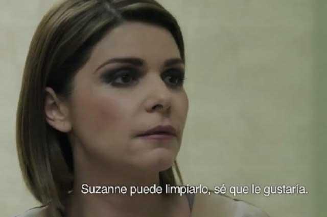 En prisión, pero no regenerada: regresa Soraya Montenegro a la TV