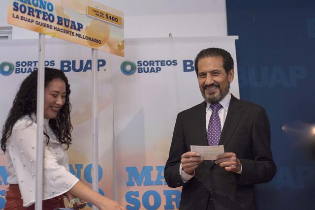 Anuncia rector Esparza la edición 20 del Magno Sorteo BUAP