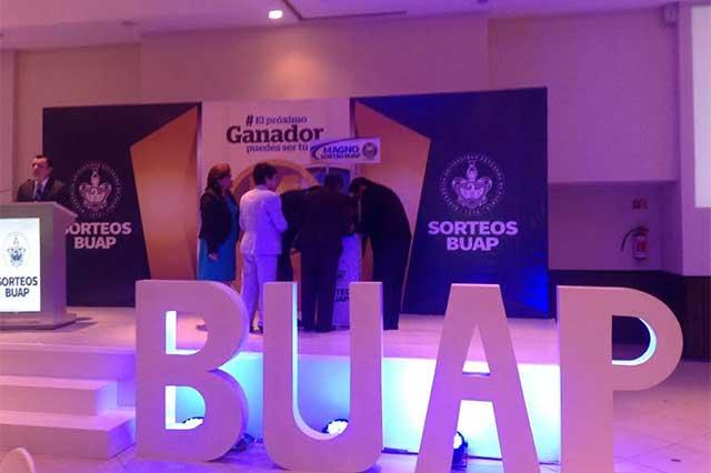 Presentan Magno Sorteo BUAP 2016 que entregará 24 mdp en premios