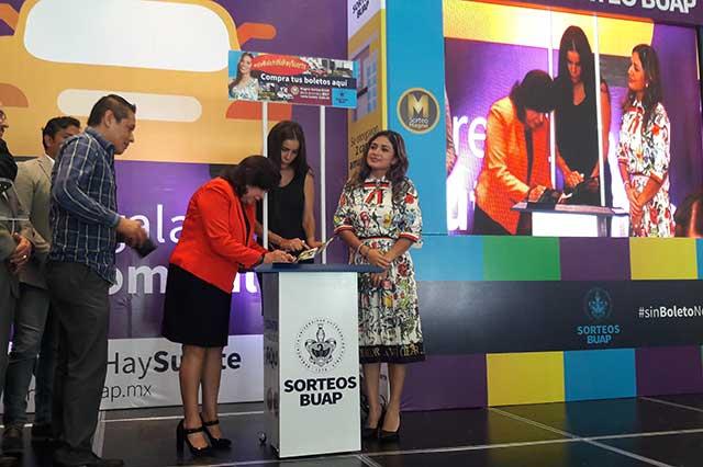 Repartirán 25 mdp en premios durante el Sorteo BUAP 2017