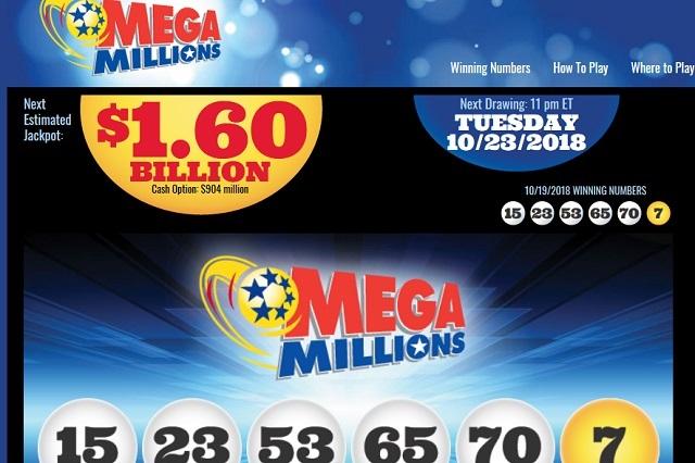 Lotería de USA tiene premio de mil 600 millones de dólares