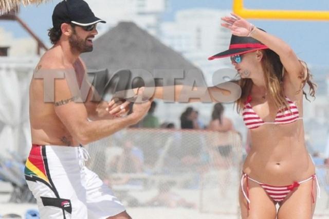 Difunden más fotos de Gabriel Soto con Marjorie de Sousa en la playa