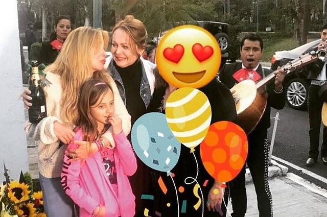 Gaby y Daniela Spanic cumpleaños juntas luego de 10 años de no hablarse