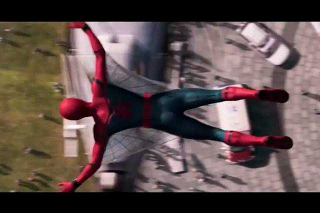 Estrenan primer tráiler de Spiderman: Homecoming