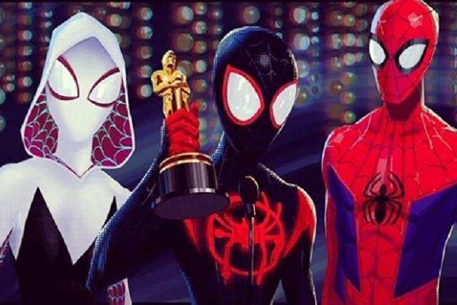 Resultado de imagen de gala de los oscars 2019 spiderman