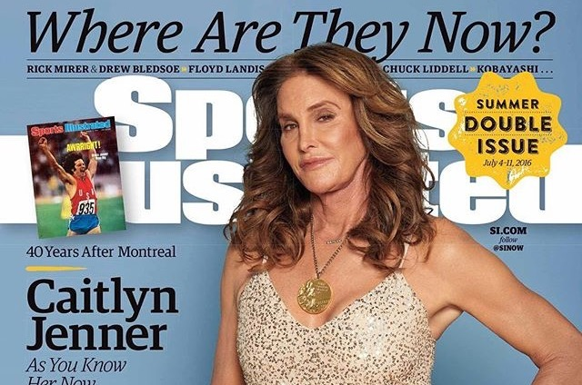 Caitlyn Jenner posa para Sports Illustrated