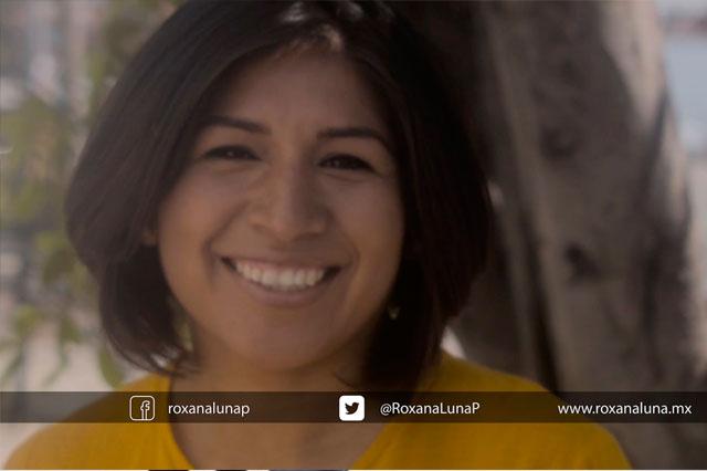 INE aprueba spot de Roxana Luna cuestionado por el PAN