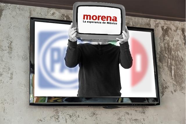 Es para Morena un tercio de los spots de campaña en Puebla