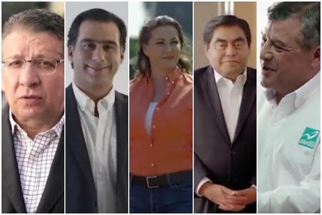 Con estos spots los aspirantes a la gubernatura buscarán tu voto