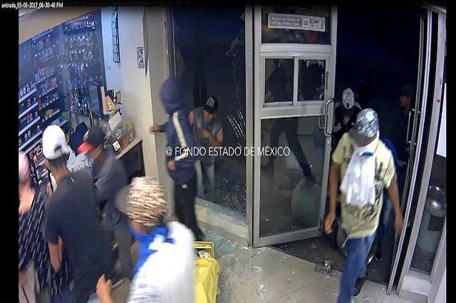 Detienen a 27 personas por saqueos registrados en Tultitlán y Acolman